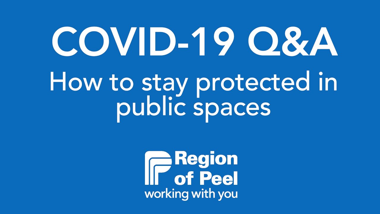 How To Stay Protected In Public Spaces During Covid 19 Youtube