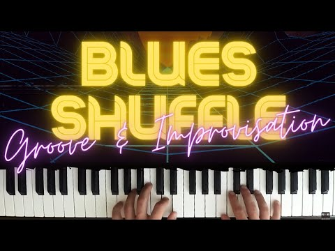 Blues Shuffle in C │Blues Piano Lessons #4