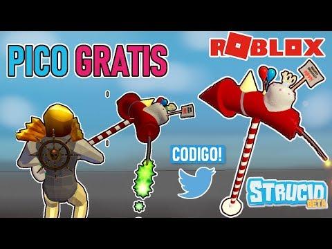 CODIGO STRUCID COMO CONSEGUIR UN PICO GRATIS NUEVO CODIGO STRUCID ROBLOX