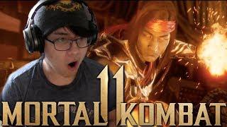 Mortal Kombat 11 - Liu Kang/Kung Lao/Jax Reveal REACTION!