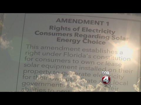 Experts say Florida's solar energy amendment hurts consumers