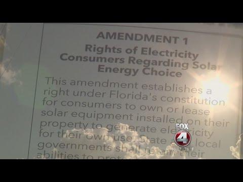 Experts say Florida's solar energy amendment hurts consumers