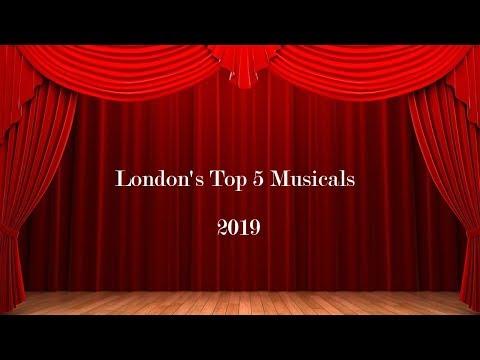 London's Top 5 Musicals 2019