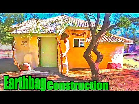 Earth Bag House Construction - Superadobe Tiny Houses - $3000 Expenses