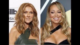 Celine Dion Vs Mariah Carey on Singles Charts