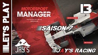 [fr] motorsport manager - jay's racing - saison 07 - gp tondela - Épisode 13
