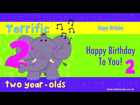 Kidzone - Happy Birthday To Two Year Olds Mp3