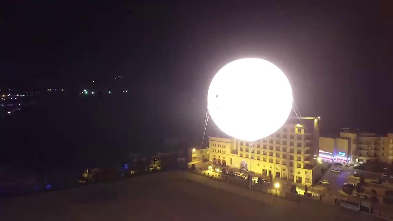 Airstar Huge 10m Lighting Balloon Saudi Arabia Youtube