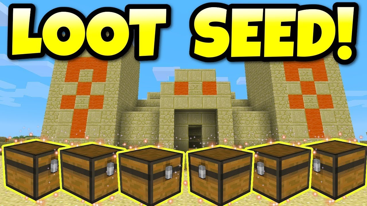 Minecraft THE BEST SEED EVER! 11 Desert Temples & 11 Villages PS11, PS11, Xbox  One, Xbox 11110