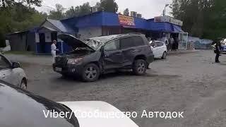 В районе Южной промзоне Ачинска произошло серьёзное ДТП