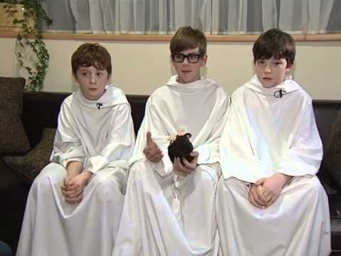 Moscow interview of Libera boys' choir
