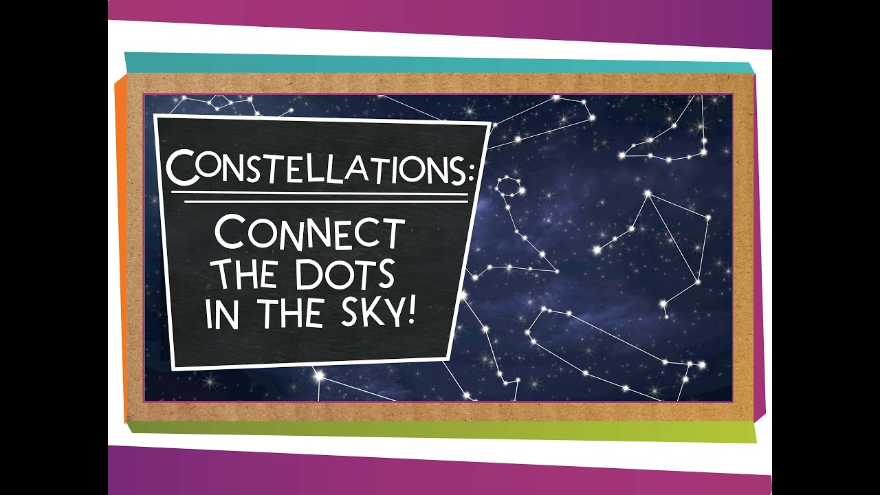 small resolution of Constellations: Connect the Dots in the Sky! - YouTube