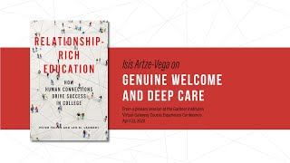 Relationship-Rich Education – Isis Artze-Vega on genuine welcome and deep care