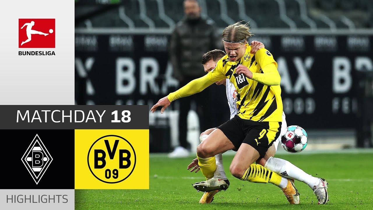 Download Borussia M'gladbach - Borussia Dortmund | 4-2 | Highlights | Matchday 18 – Bundesliga 2020/21
