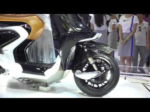 Xe.Tinhte.vn - Yamaha 04GEN Concept - Xe Tay Ga Thiết Kế Lạ