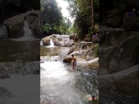 air terjun sungai pinang,batang kali