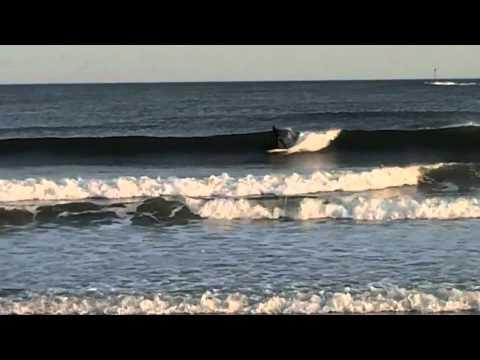 Surfing kennebunk beach Maine- Cooper Beveridge