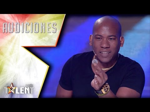 Outstanding magic from the Caribbean gets the Golden Buzzer  Auditions 2  Spain's Got Talent 2017