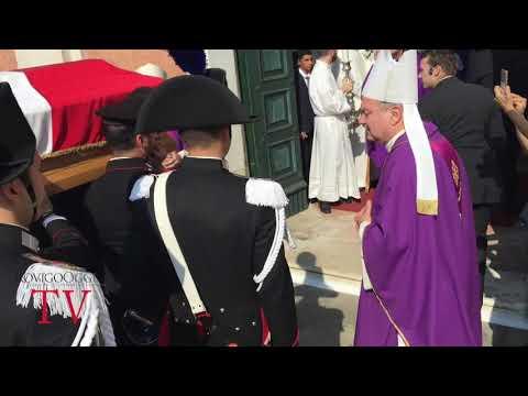 Funerale Antonino Modica carabiniere Arqua' Polesine