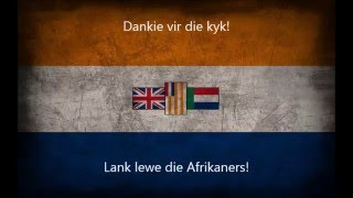 Old National Anthem of South Africa - Die stem van Suid-Afrika