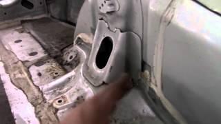 Кузовной ремонт. Ставим Трибеку на стапель, попытка номер 2. Body repair.(Body repair. Кузовной ремонт автомобилей в гараже. Мотор на Субару снят, ставим опять на стапель. Подробности..., 2016-01-08T19:19:08.000Z)
