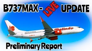 LionAir B737 MAX Interim report released, What does it mean?