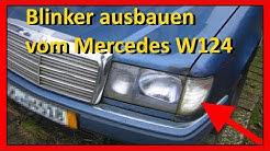 Mercedes 190e Blinker Ausbauen