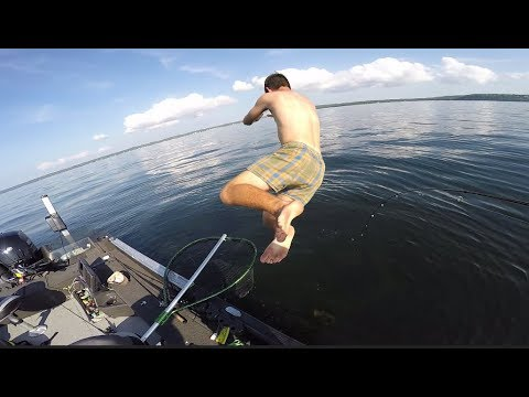 He DIVES After It! AMAZING Multi-species Fishing Day!!