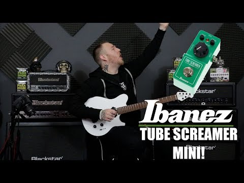 Ibanez Tube Screamer MINI Review! SMALL BUT DEADLY!