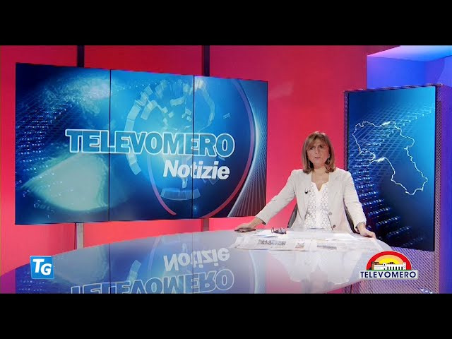 TELEVOMERO NOTIZIE 23 OTTOBRE 2020 EDIZIONE delle  20 30