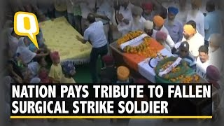 Mortal Remains of Surgical Strike Hero Brought to His Native Village | The Quint