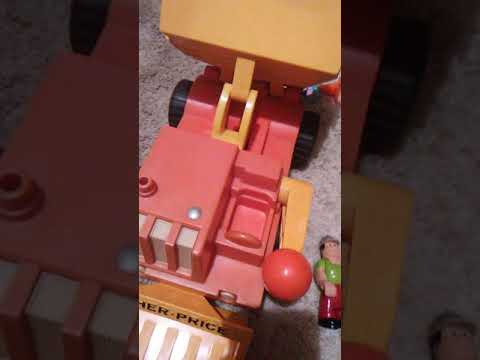 1970's Fisher Price Dump Truck Review