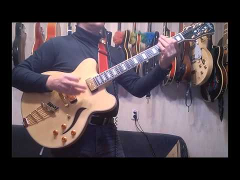 Hofner, Gibson, Eastman, Epiphone archtops comparison