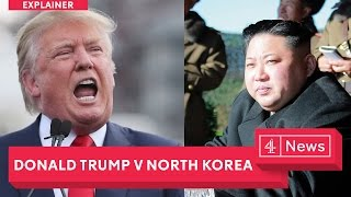 North Korea vs Trump explained: The latest as the US threatens military action against Kim Jong Un