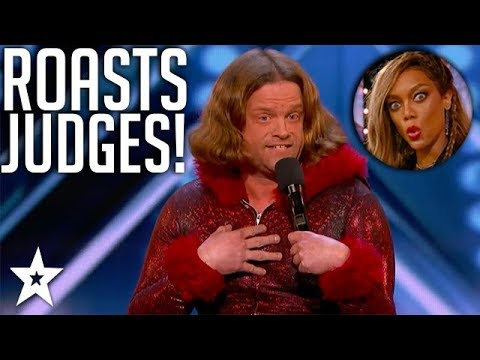 Oh No He Didn't! Bad Comedian ROASTS Judges | America's Got Talent 2018 | Got Talent Global