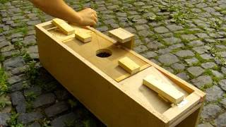 Self-made Marten Trap / Selbstgebaute Marderfalle (DIY)