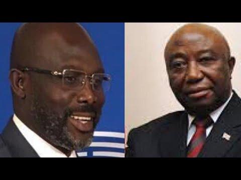 Présidentielle au Liberia: second tour Weah/Boakai (Commission électorale)