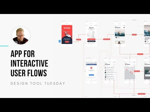 App for Interactive User Flows and UX Journeys - Design Tool Tuesday, ep42