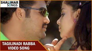 Tagilinadi Rabba Video Song || Samba Movie || NTR Jr, Bhoomika, Genelia || Shalimar Songs