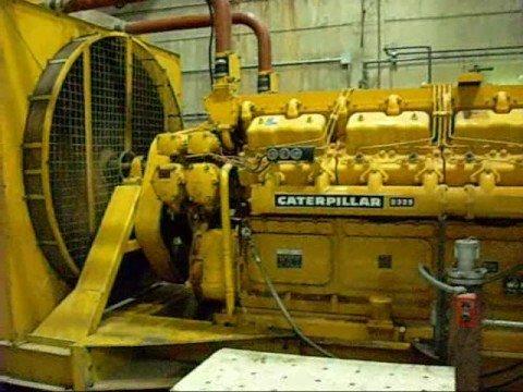 Caterpillar Genset D399 V16 Catsel