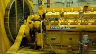 caterpillar genset d399 v16 cat diesel