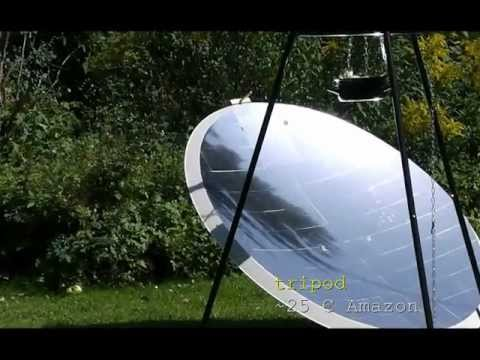 Solar Cooking How To Build A Solar Cooker From A
