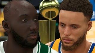 NBA 2K20 Tacko Fall My Career - NBA Finals Game 7 Win or Go Home!