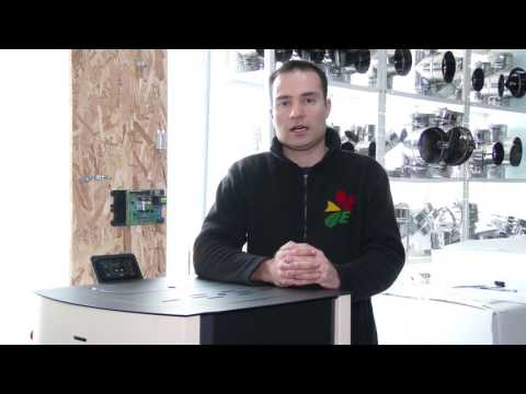 "How to clear alarm ""E110"" on a pellet stove Eco Spar Auriga 25kW"
