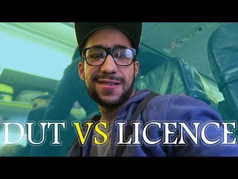 الفرق بين DUT و LICENCE في فرنسا. ما الأحسن؟