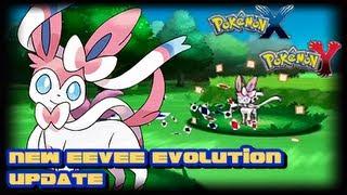 Pokemon Y 3DS Update Sylveon Info Speculation