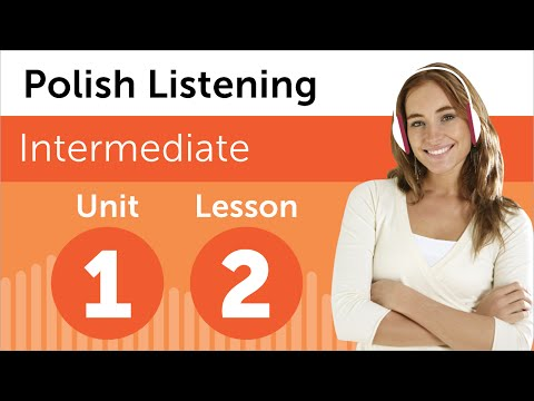 Learn Polish - Polish Listening - Reserving a Room in Polish