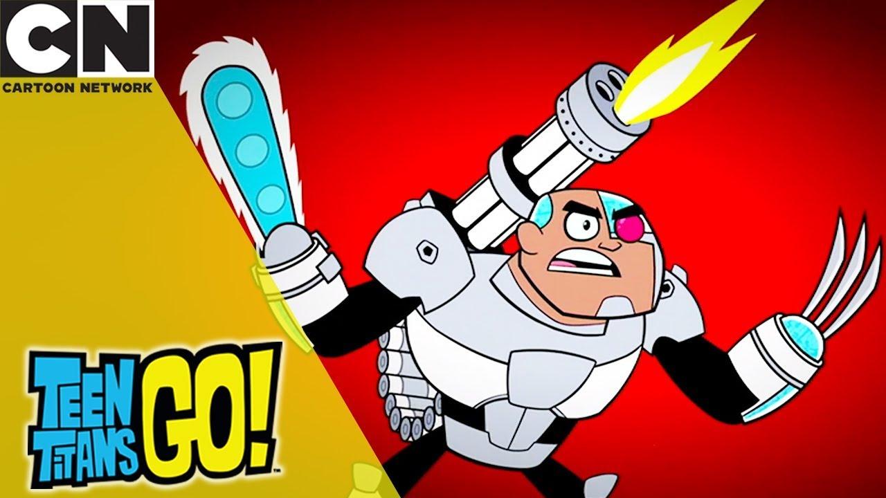 Teen Titans Go  Cyborgs Secret  Cartoon Network - Youtube-7377