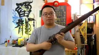 The D Boys KAR98 is a super awesome shell ejecting rifle, operates ...
