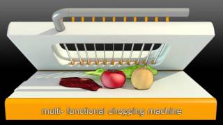 Creative design -- vegetable and fruit cutter